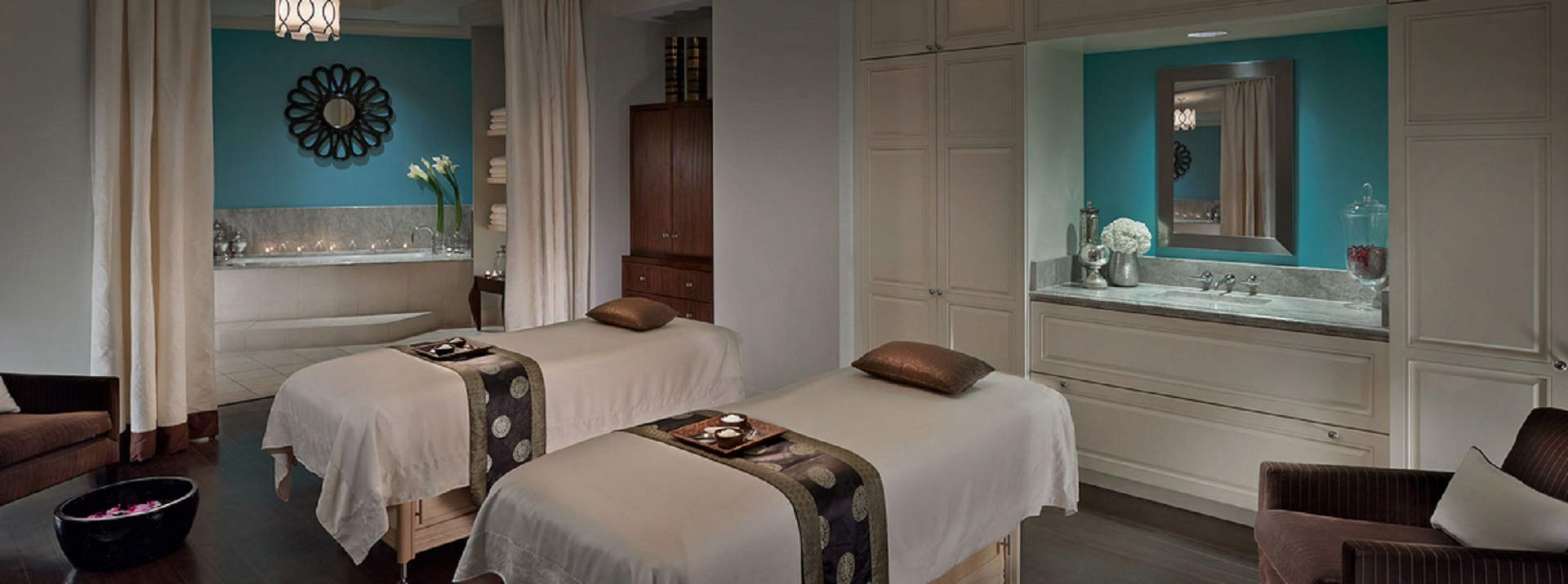 Massage therapists have the option to work in exciting and exotic locations