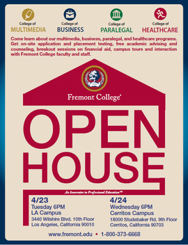 Fremont College Open House