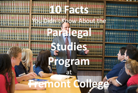 10 Facts About the Paralegal Studies Program