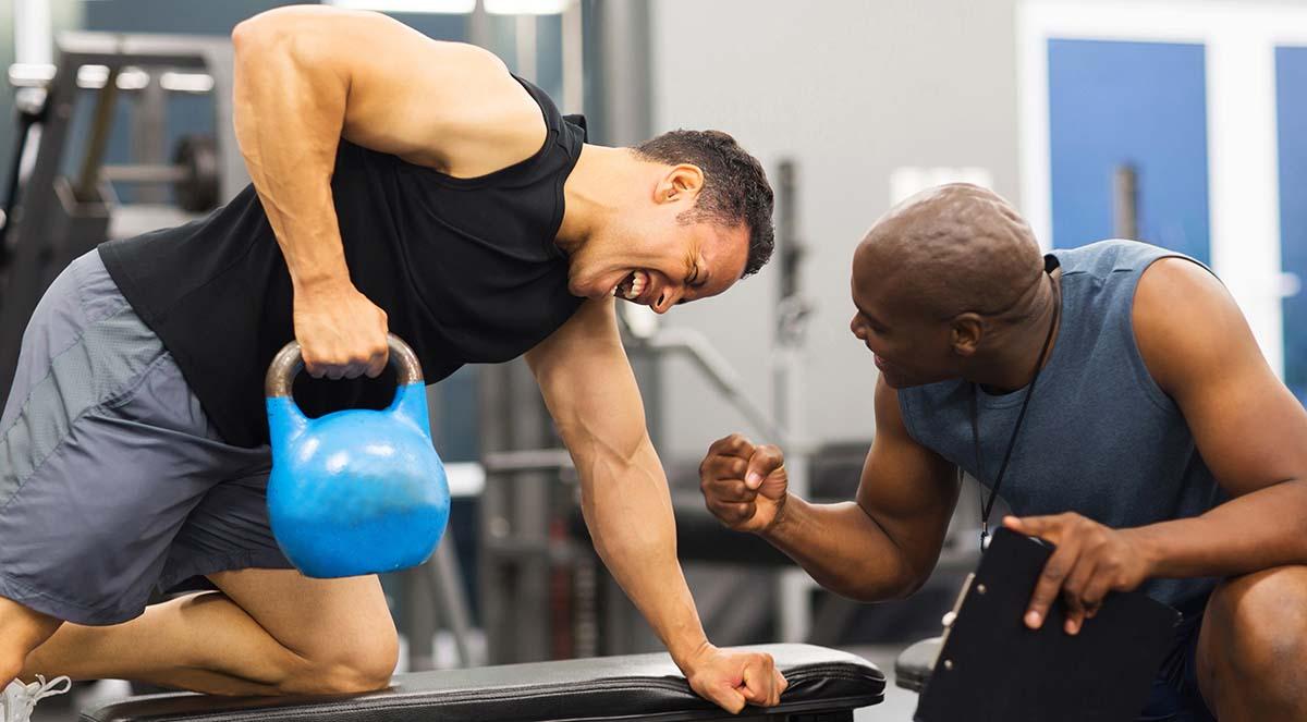 health club trainer