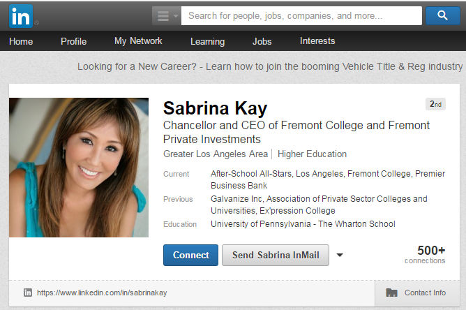 Develop Your LinkedIn Profile