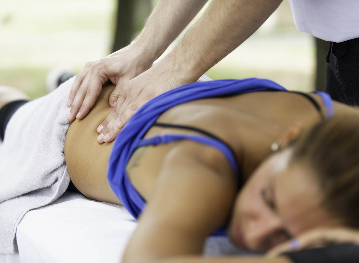Sports massage techniques goals