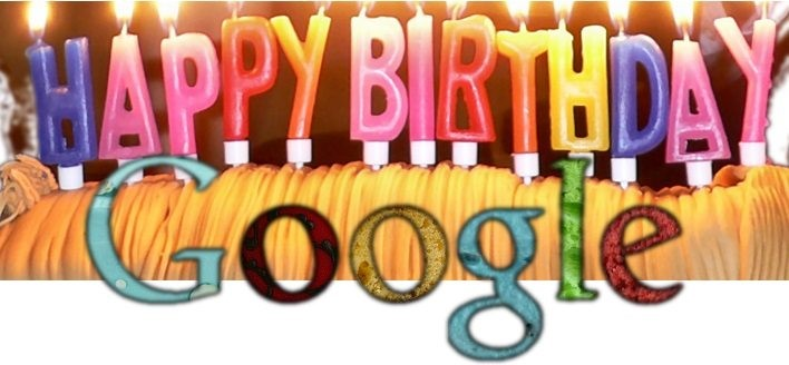 happy birthday google 19