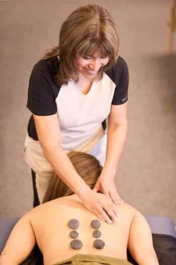 rewarding relaxing experience hot stone massage school