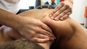 sports physical therapy massage technique
